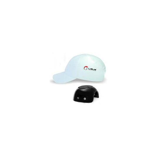 GORRAS LIBUS CON CASQUETE PLASTICO (BUMP CAP) BLANCAS