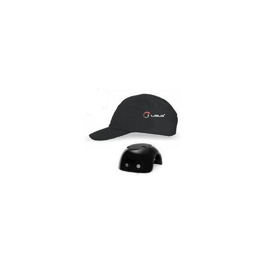 GORRAS LIBUS CON CASQUETE PLASTICO (BUMP CAP) NEGRAS