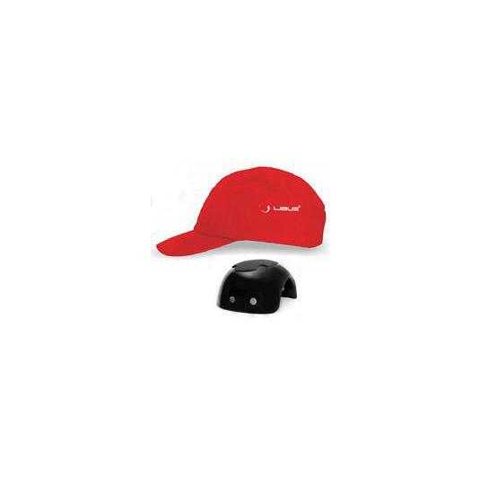 GORRAS LIBUS CON CASQUETE PLASTICO (BUMP CAP) ROJAS